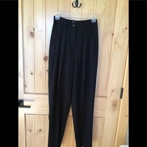 Kenar Black Trousers